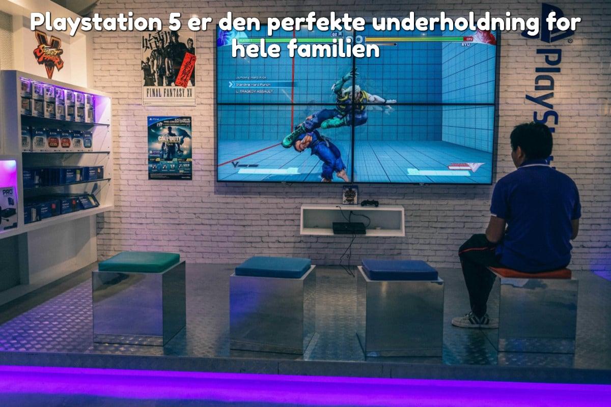 Playstation 5 er den perfekte underholdning for hele familien